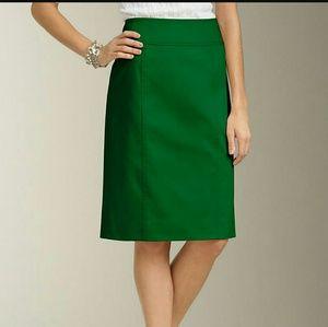 Talbot plus size green skirt 18pw